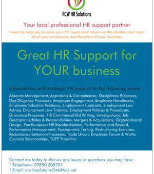 Great HR Support for YOUR Business