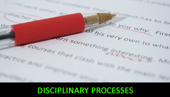 Disciplinary Processes